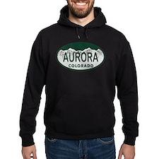 Aurora Colo License Plate Hoodie
