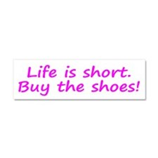 Unique Life short Car Magnet 10 x 3