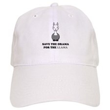 save the drama for the llama Baseball Cap