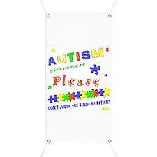 Autism Awareness- Don't Judge. Banner