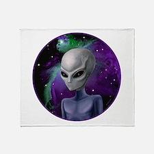 Alien Nebula ~ 2 Sides ~ Throw Blanket