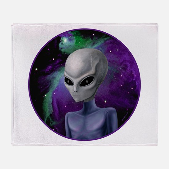 Alien Nebula ~ 2 Sides ~ Throw Blanket
