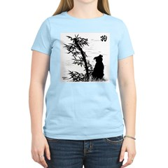 Year of the Dog Bamboo Women's Pink T-Shirt