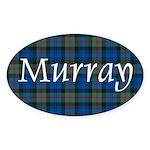Tartan - Murray Sticker (Oval)