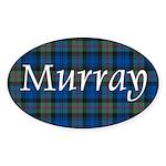 Tartan - Murray Sticker (Oval 50 pk)