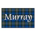 Tartan - Murray Sticker (Rectangle)