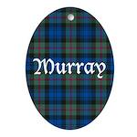 Tartan - Murray Ornament (Oval)