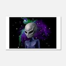 Alien Nebula ~ 22x14 Wall Peel