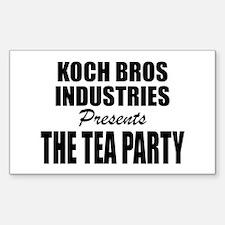 Koch Bros Decal