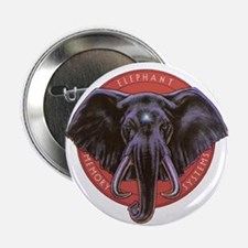 """Cute Elephant 2.25"""" Button (10 pack)"""