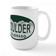 Boulder Colo License Plate Mug
