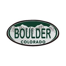 Boulder Colo License Plate Patches