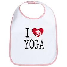 I HEART YOGA / I OM YOGA / I AM YOGA Bib