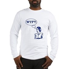 WTF Vintage Long Sleeve T-Shirt
