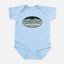 Colorado Springs Colo License Plate Infant Bodysui