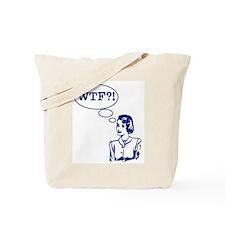 WTF Vintage Tote Bag