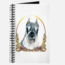 Christmas Holiday Schnauzer Journal