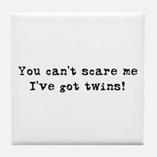 Can't Scare Tile Coaster