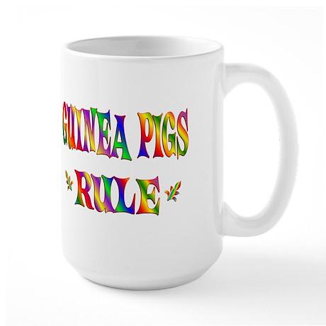 GUINEA PIGS RULE Large Mug
