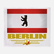 Berlin Pride Throw Blanket