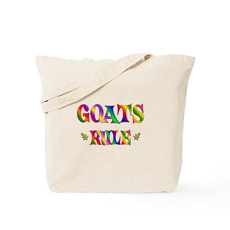 GOATS RULE Tote Bag