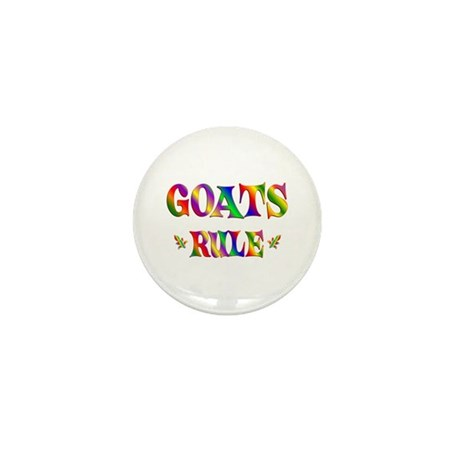 GOATS RULE Mini Button (100 pack)