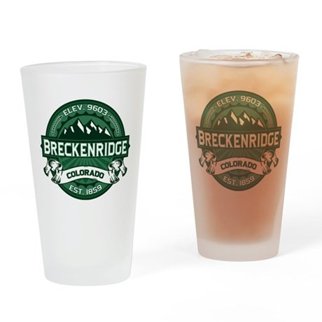 Breckenridge Forest Drinking Glass