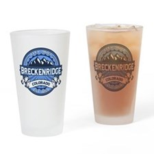 Breckenridge Blue Drinking Glass