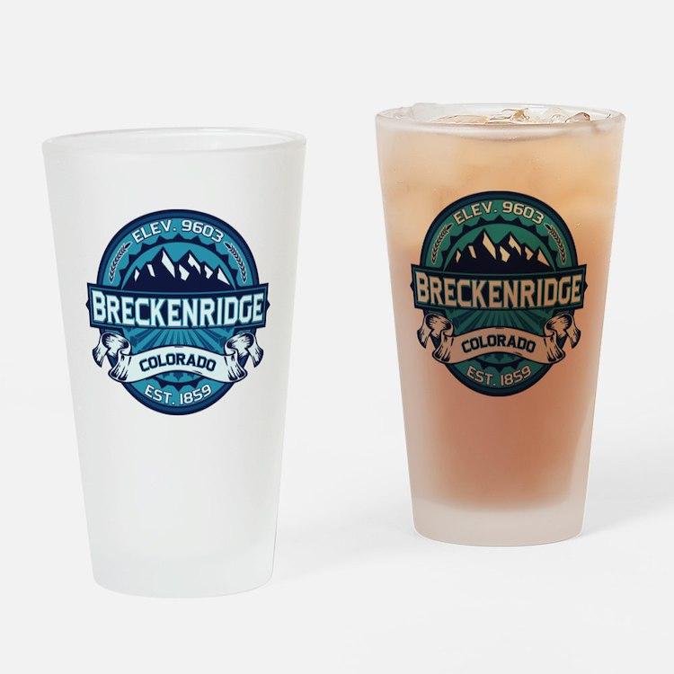 Breckenridge Ice Drinking Glass
