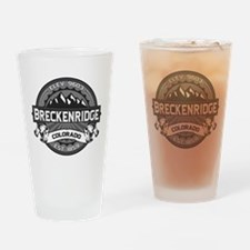 Breckenridge Grey Drinking Glass