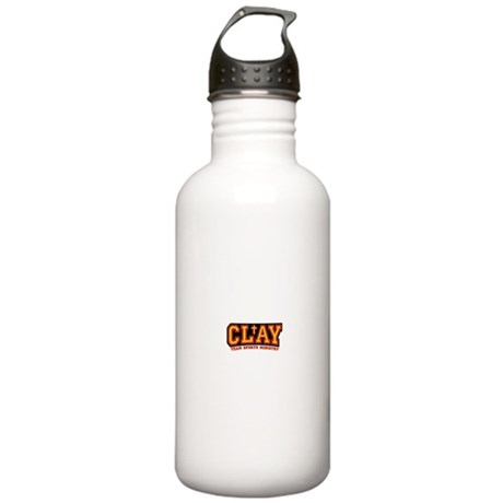 CLAY Gear Stainless Water Bottle 1.0L