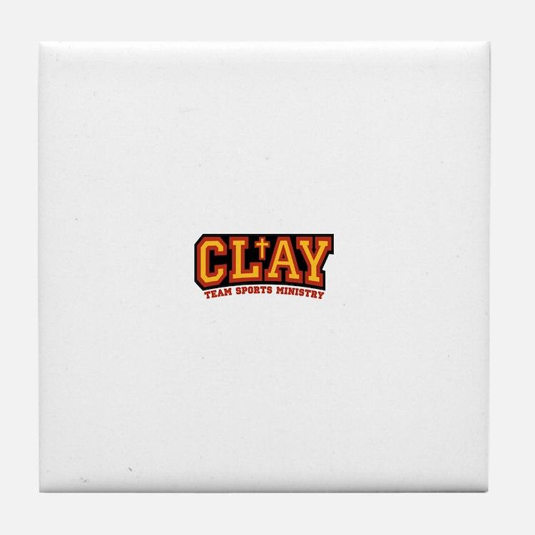 CLAY Gear Tile Coaster