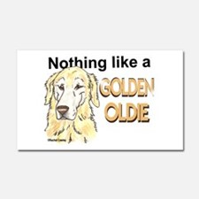 Golden Oldie Car Magnet 20 x 12