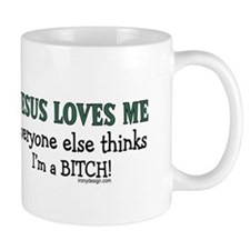 JESUS LOVES ME... Mug