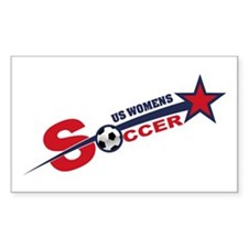 US Women's Soccer Decal