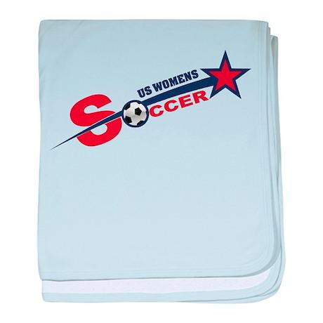 US Women's Soccer baby blanket