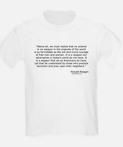Moral courage of free men and women Kids T-Shirt