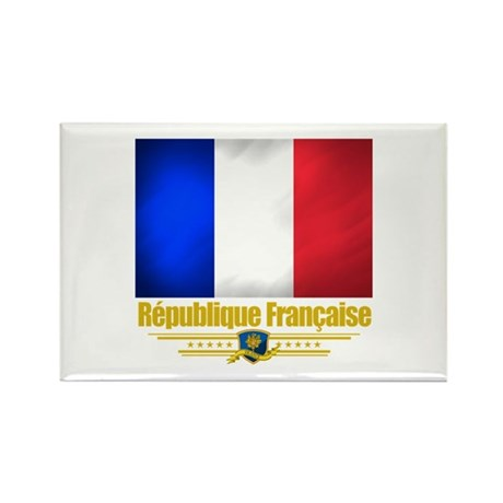 French Pride Rectangle Magnet