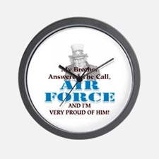 Air Force Brother Wall Clock