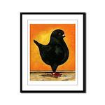 Schietti Modena Pigeon Framed Panel Print