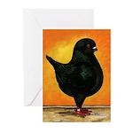 Schietti Modena Pigeon Greeting Cards (Pk of 10)