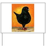 Schietti Modena Pigeon Yard Sign