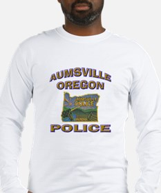 Aumsville Police Long Sleeve T-Shirt