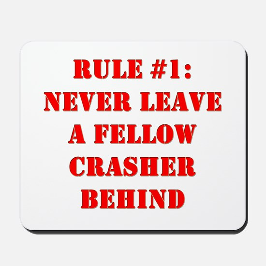 Crashing Rule #1 Mousepad