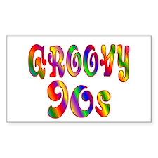 Groovy 90s Decal