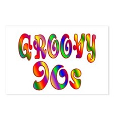 Groovy 90s Postcards (Package of 8)