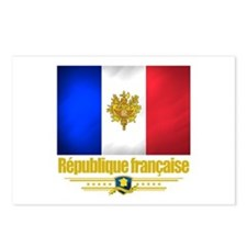 French Flag/Emblem Postcards (Package of 8)