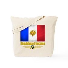 French Flag/Emblem Tote Bag