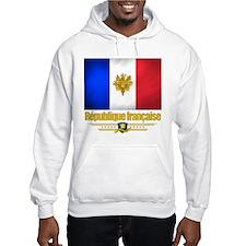 French Flag/Emblem Hoodie