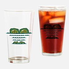 Big Croc Drinking Glass